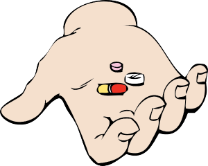 Hand_And_Pills_clip_art_hight
